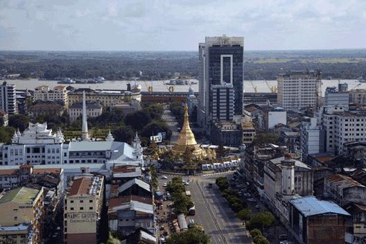 Neue Geschäftsstelle von Panalpina in Myanmar/Rangun