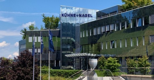 Kuehne+Nagel's worldwide headquarters in Schindellegi,Switzerland