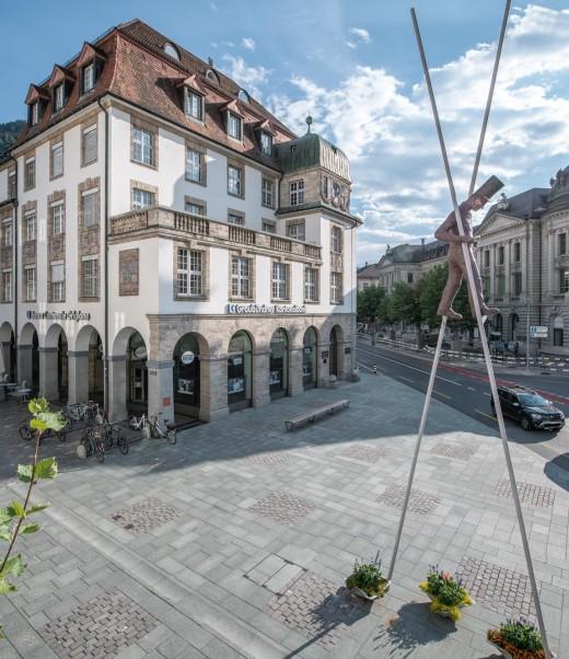 Hauptsitz Kundenhaus am Postplatz