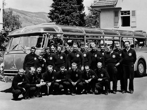 Die Meister-Mannschaft von 1954