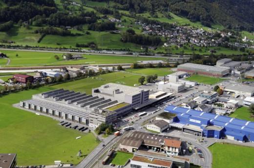 Der Hauptsitz des Dätwyler Konzernbereichs Sealing Technologies liegt in Schattdorf, Uri.