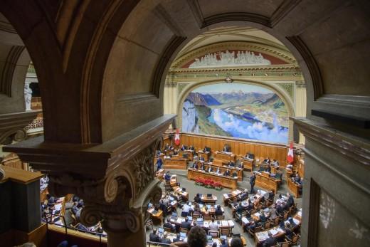 Parlamentsgebäude: Nationalratssaal